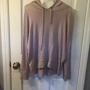 American Eagle Pink Hoodie Size Small